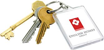 Keys With EHG Logo